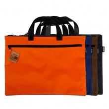 VWIN真人5840文件袋A4办公用品拉链袋资料袋女士帆布手提包男士公文包