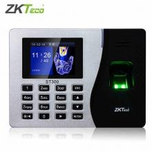 熵基科技(zkteco)ST300 plus智慧指纹考勤机指纹式打卡机网络签到机停电打卡打卡器