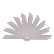 VWIN真人2011 deli SK5高碳钢美工刀片大号刃口锋利 10片/盒