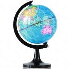VWIN真人3032地球仪(彩色)(台)旋转世界地球仪 高清标准教学 经典地形 14.2cm