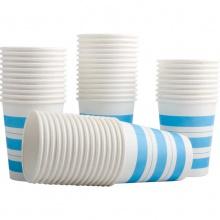 VWIN真人9560纸杯(50个/袋)一次性家用办公聚餐加厚纸杯 饮水杯 杯子
