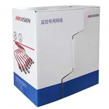 海康威视超五类非屏蔽室内网线 监控专用网线无氧铜