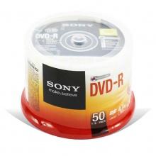 索尼原装行货 SONY 4.7G 空白DVD光盘 刻录光盘 DVDR碟片50片装