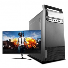 酷睿i3i5主机独显商务办公台式电脑全套整机组装机游戏送显示器