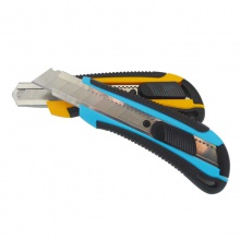 VWIN真人2064包胶塑料美工刀 大码裁纸刀 壁纸刀大号工具刀美术刀