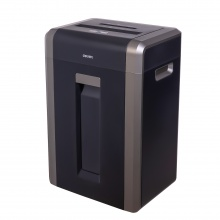 VWIN真人14403大容量办公家用碎纸机可碎卡碎光盘31L纸筒4级保密单次25张