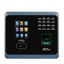 昆明考勤机熵基科技(zkteco)FC602考勤机wifi无线网络打卡机指纹人脸面部识别打卡机